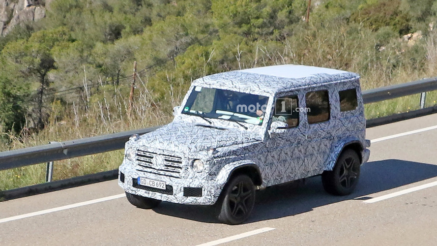 Hips don't lie: New Mercedes-AMG G63 spotted