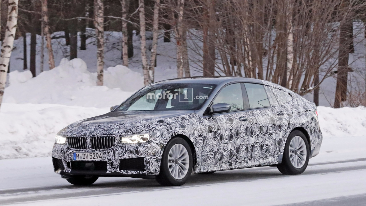 M Sport paketli BMW 6 Serisi GT casus fotoğrafları