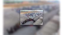 Tesla parade in China