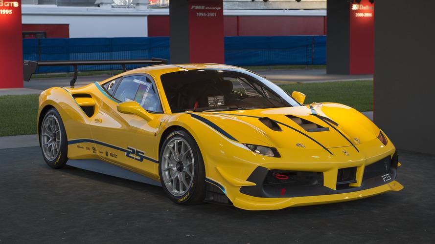 Ferrari'nin yeni yarış makinesi 488 Challenge tanıtıldı