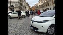 Auto elettrica, il flashmob a Roma - 14 marzo 2016