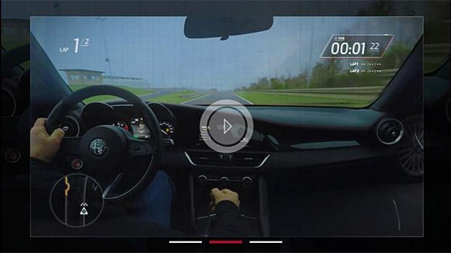 Alfa Romeo Giulia Quadrifoglio, benvenuti a bordo [VIDEO]