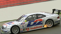 Jean Alesi Tested AMG Mercedes CLK-DTM