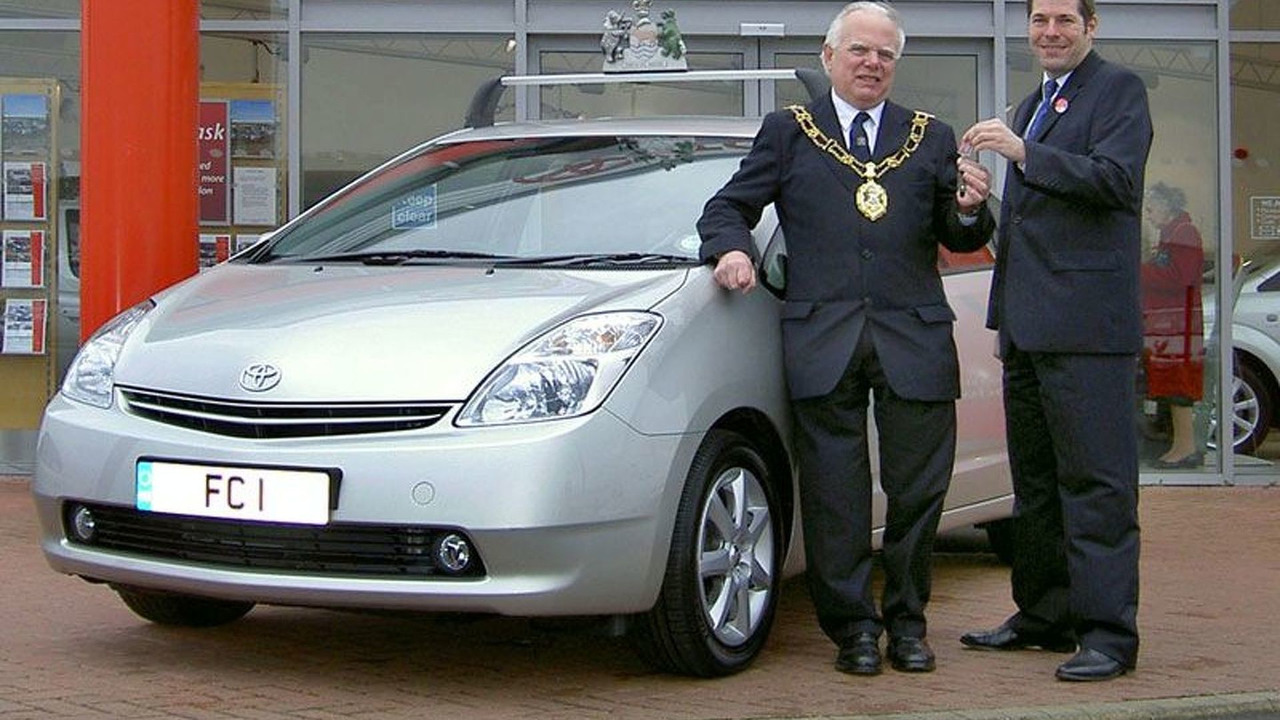 Toyota Prius for Oxford Mayor