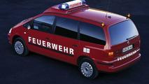 Volkswagen Sharan fire engine