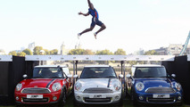 J.J. Jegede with the 2012 MINI Cooper London Edition - 28.9.2011