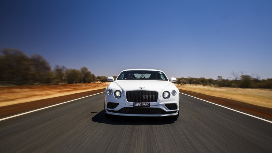 Bentley shows the Continental GT Speed hitting its 206 mph top speed [video]