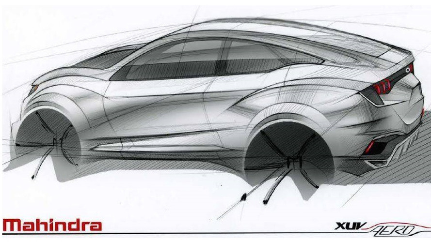 Mahindra XUV Aero concept unveiled