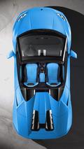 Lamborghini Huracan Spyder drops its top in Frankfurt