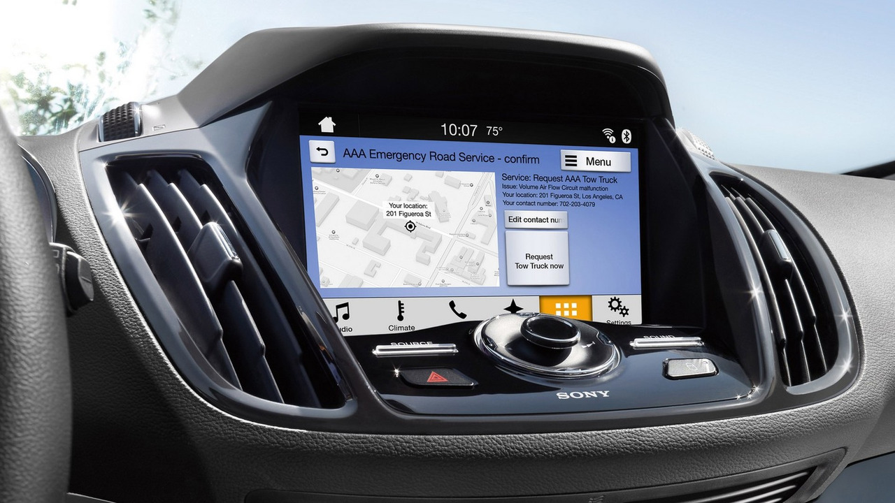 ford makes android auto apple carplay available for 2016. Black Bedroom Furniture Sets. Home Design Ideas