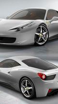 Ferrari 458 Italia - Argento