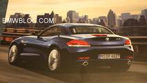2010 BMW Z4 leaked brochure image