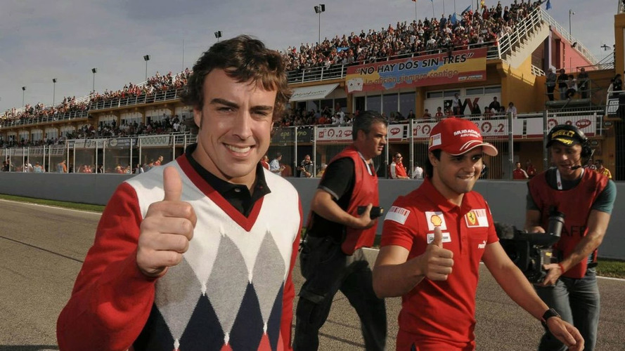 Alonso set for first official Ferrari appearance