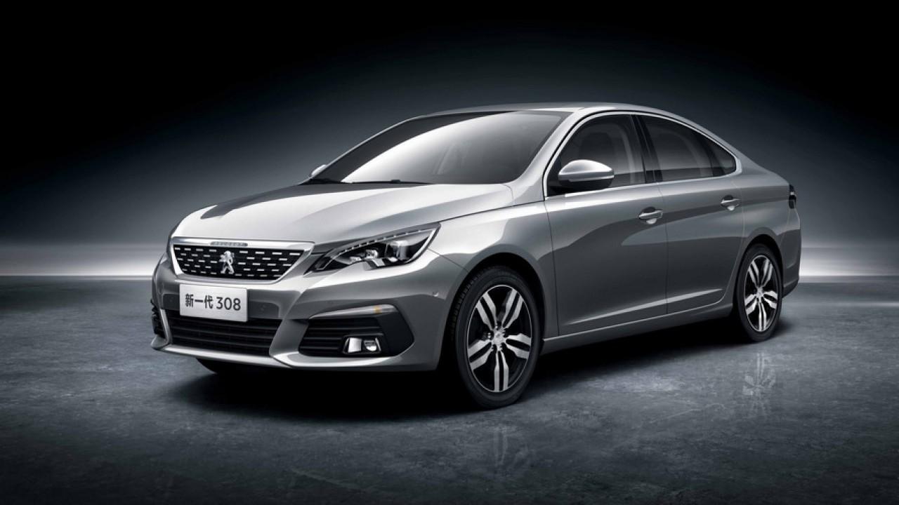 2016 Peugeot 308 Sedan Çin'den merhaba dedi