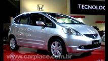 Salão do Automóvel 2008 - Honda New Fit 2009 é lançado oficialmente no Brasil