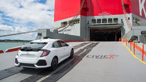 2017 Honda Civic Hatchback prototype spy photo