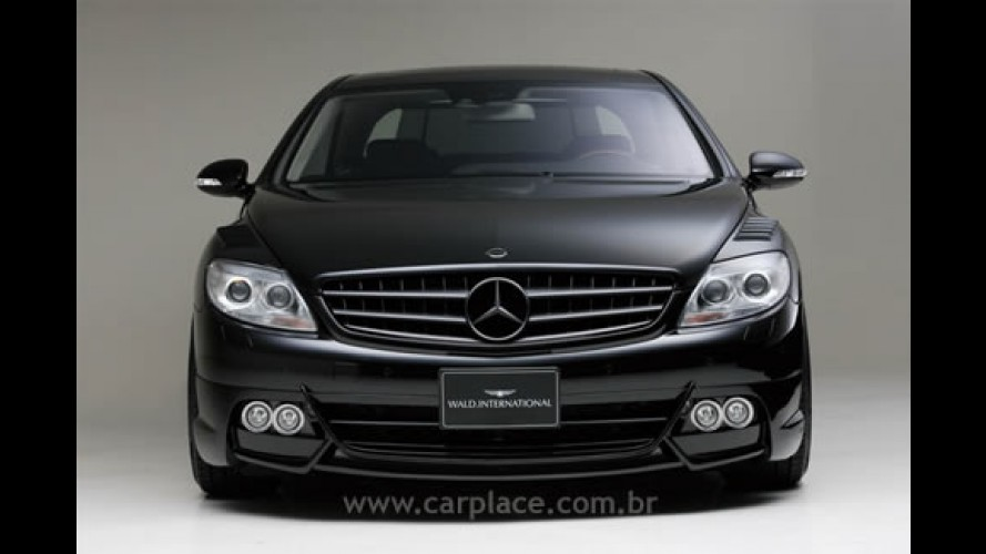 Coupé Mercedes Benz CL Class tunado por Wald International
