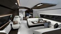 Mercedes-Benz Style aircraft, yacht interiors