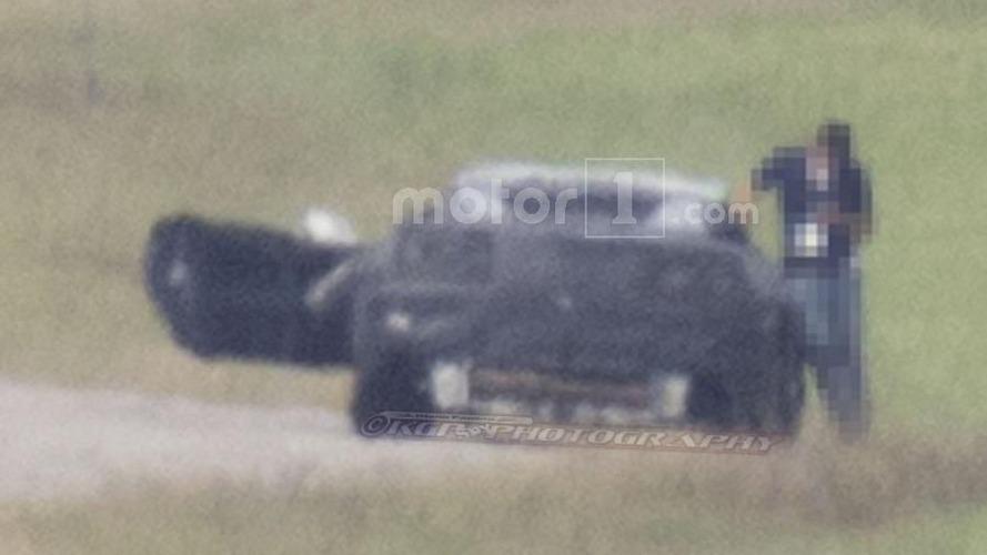 Mid-engined Chevy Corvette spy photos