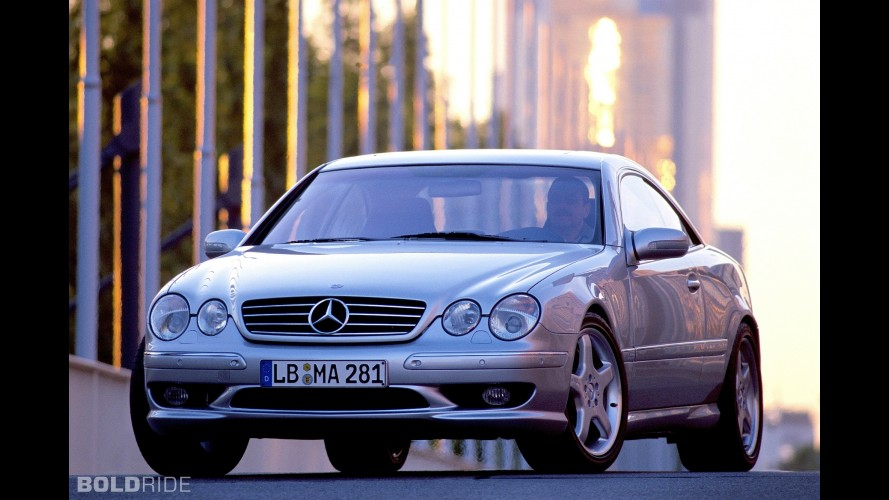 Mercedes-Benz CL55 AMG F1 Limited Edition