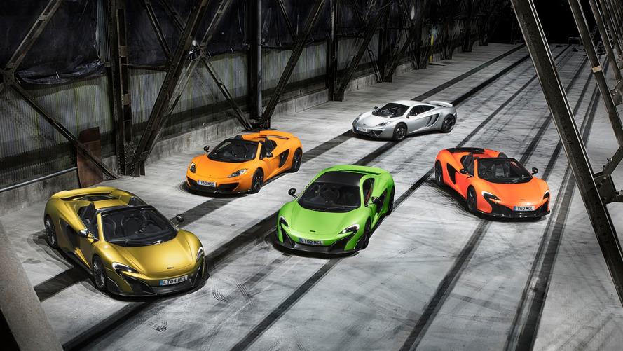 McLaren Considering Four-Seat GT, Says No To Four Doors