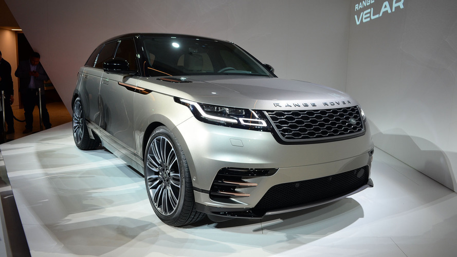 Cenevre'den taze çıktı: Land Rover Range Rover Velar