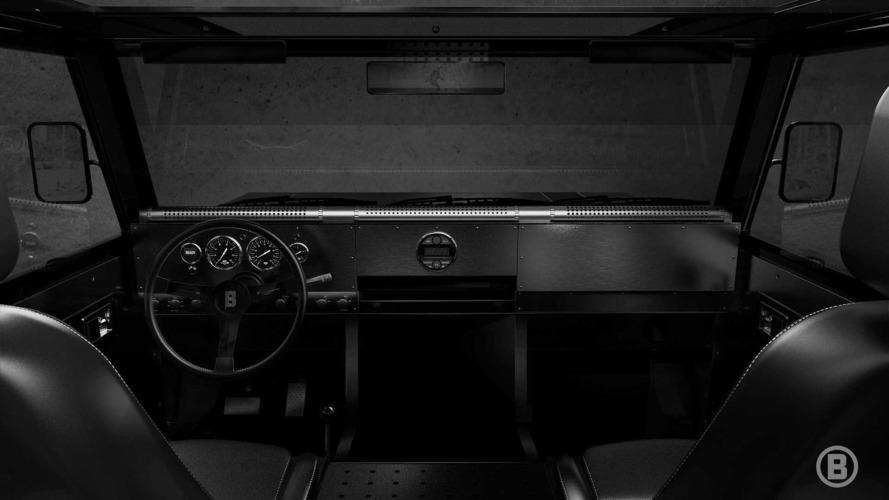 Bollinger tamamen elektrikli kamyonetinin iç kabinini gösterdi