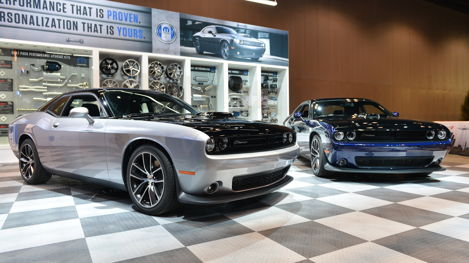 Mopar S Custom Challenger Features Hand Applied Two Tone Paint