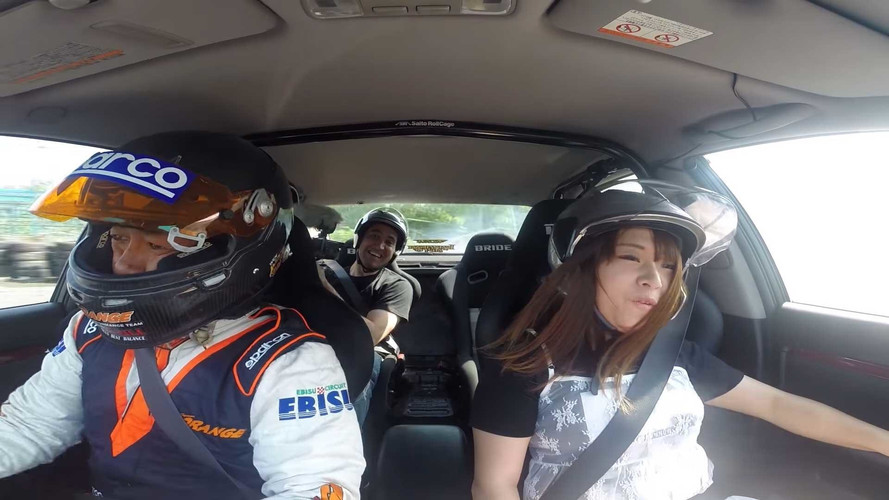 Taking A Drift Taxi Around Ebisu Circuit Looks Like Epic Fun