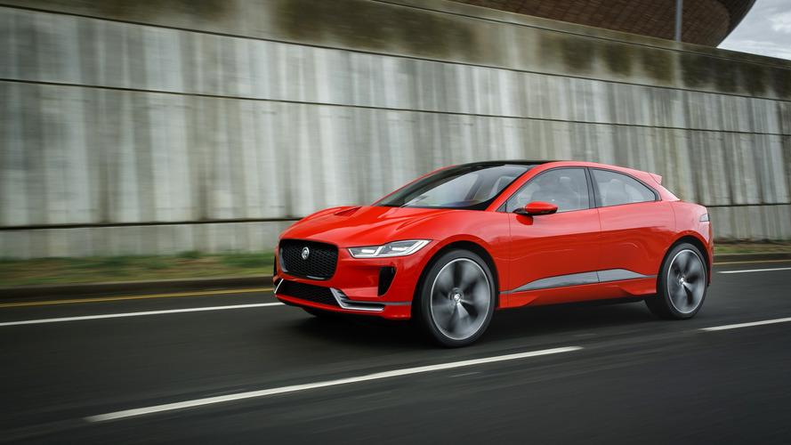 2018 Jaguar I-Pace Frankfurt'ta tanıtılabilir
