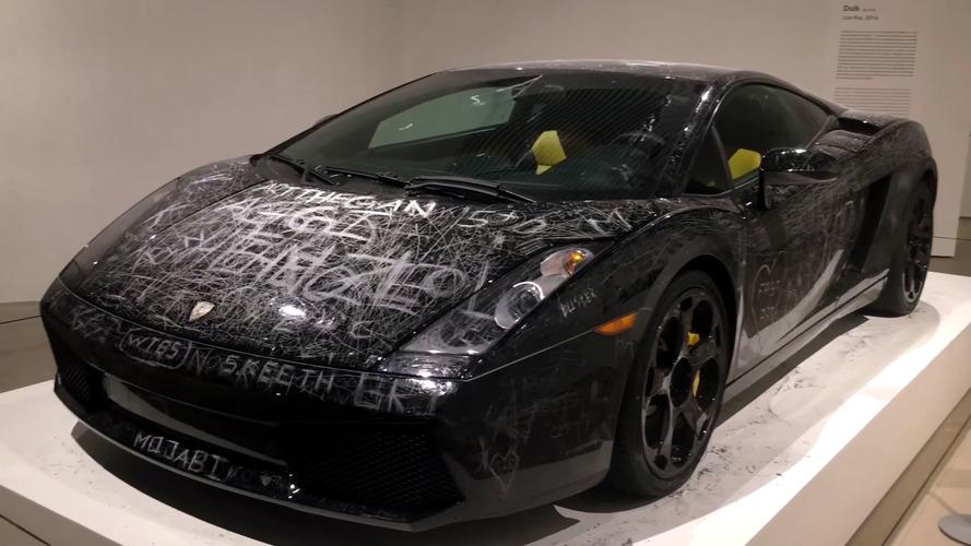 Lamborghini Gallardo Keyed To Hell In The Name Of Art