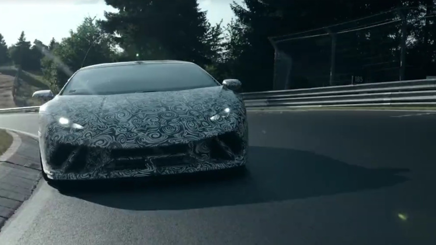 VIDÉO - La Lamborghini Huracán Performante s'attaque au Nürburgring