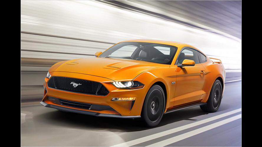 Ford Mustang Facelift: Noch schöner, noch stärker