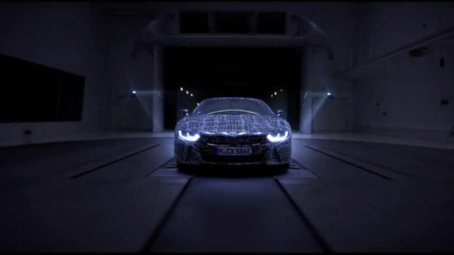 2018 BMW i8 Roadster teasers