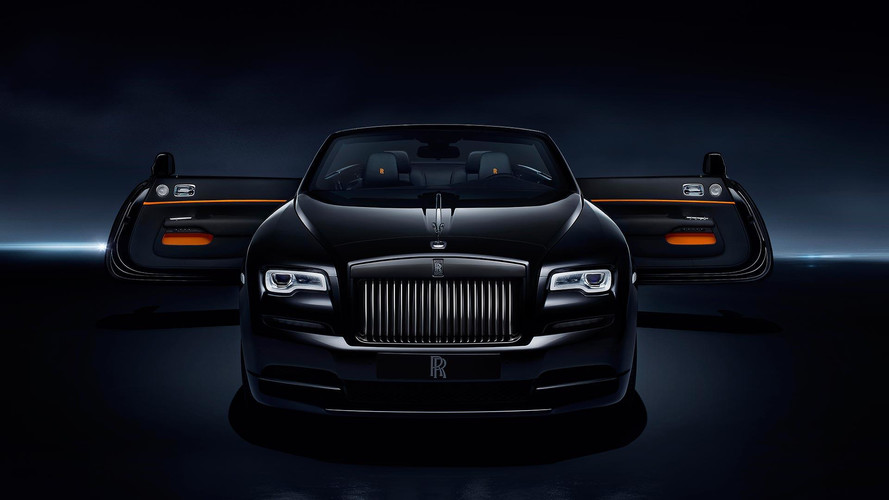 Rolls-Royce Unveils New Dawn Black Badge