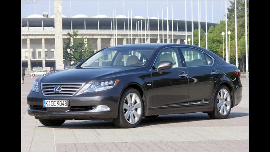CO2-reduzierter Genuss: Der Lexus LS 600h L im Test