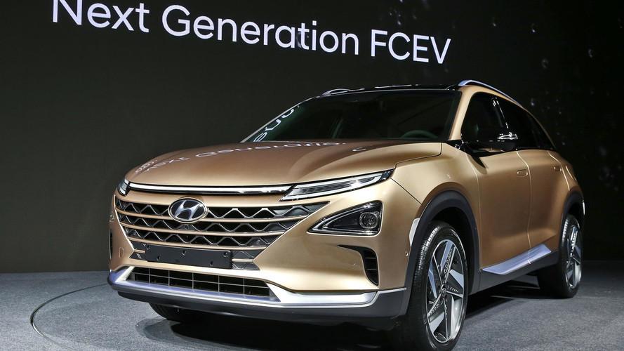 Hyundai mostra conceito de SUV movido a célula de combustível