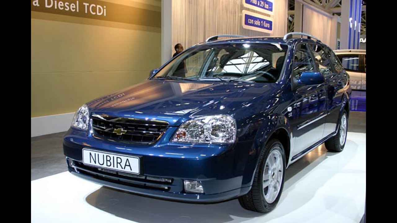 Chevrolet Lacetti und Nubira (Bologna 2006)