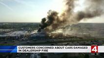 Detroit Dealership Fire