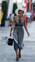 Nicole Scherzinger, Singer Pussycat Dolls, girlfriend of Lewis Hamilton, European Grand Prix, Valencia Spain 20.08.2009