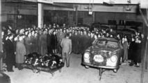 The 500. Porsche 356 left the plant in spring 1951 - 17.03.2010