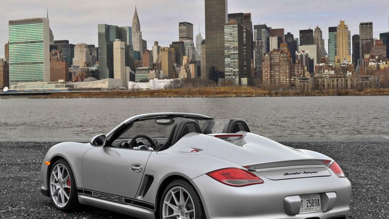 2011 Porsche Boxster Spyder, New York City Skyline - 1600 - 26.03.2010