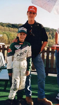 Young Sebastian Vettel with Michael Schumacher 1999, 600, 18.11.2010