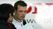 Alex Wurz, Honda test driver, Valencia, Spain 22.01.2008