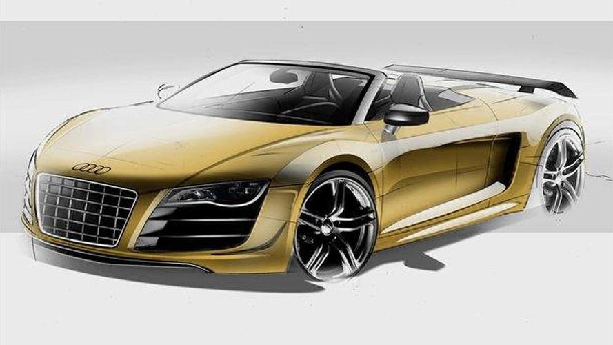 Audi R8 GT Spyder officially revealed