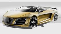 Audi R8 GT Spyder rendering - 11.4.2011