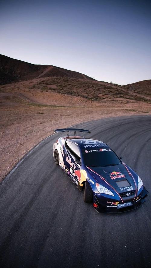 Hyundai and Red Bull Announce Rhys Millen Racing Drift Team Sponsorship at Chicago