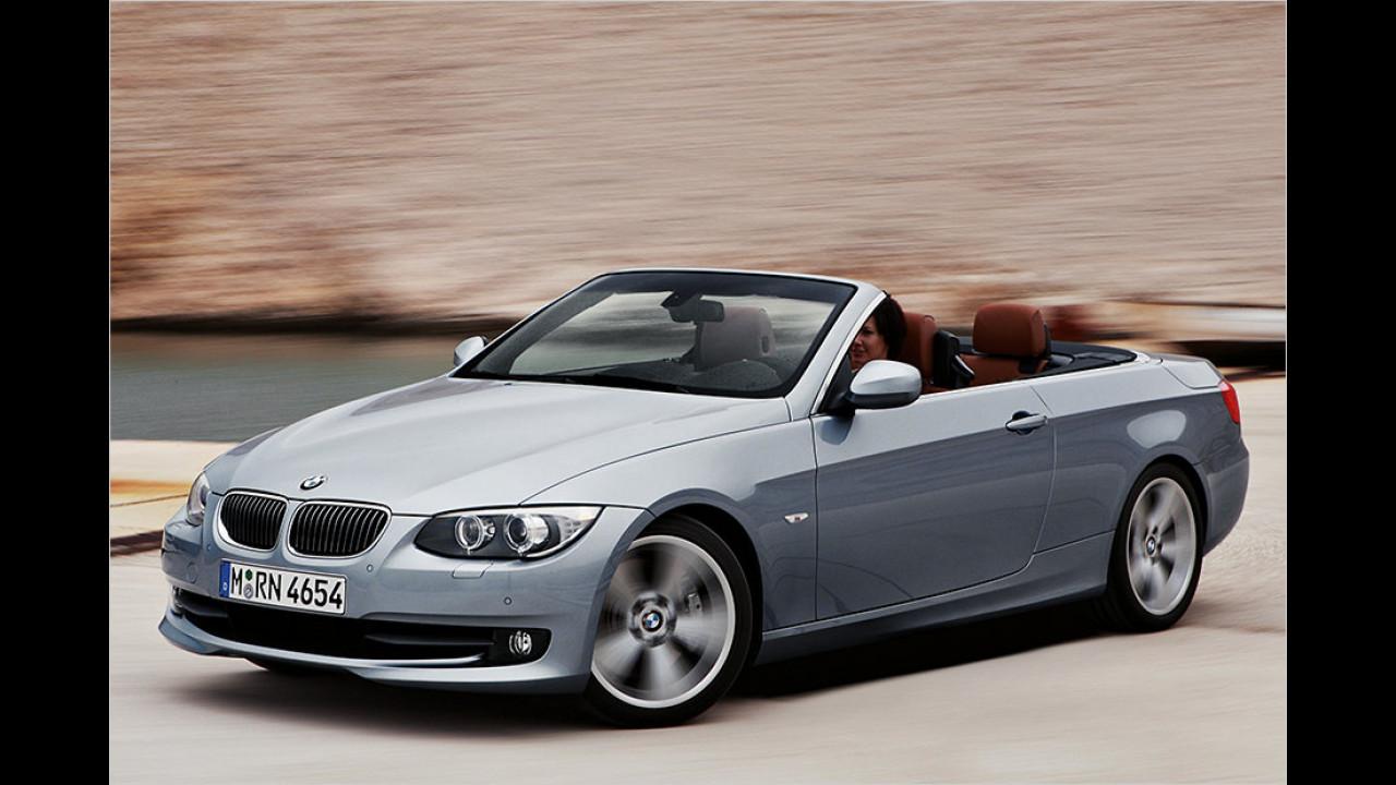 Platz 1: BMW 3er Cabrio