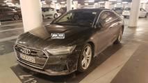 2018 Audi S7 Sportback Kamuflajsız Görüntüsü
