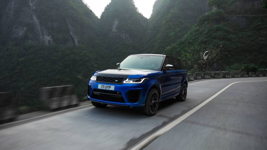 Range Rover Sport SVR Smashes Ferrari's Tianmen Record